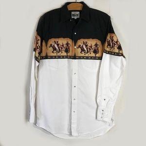 Cumberland Outfitters Western Shirt LT